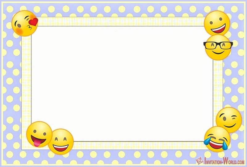 Free Emoji Invitation Template Unique Emoji Invitations for the Perfect Party