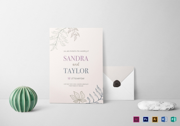 Free Fall Wedding Invitation Templates Best Of 26 Fall Wedding Invitation Templates – Free Sample