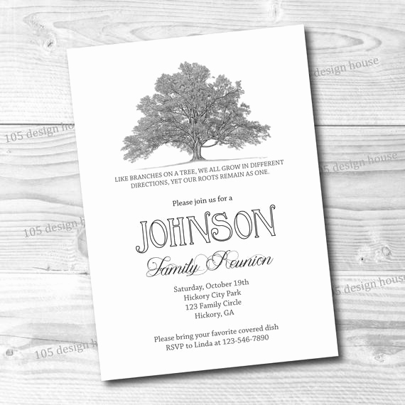 Free Family Reunion Invitation Templates Best Of Family Reunion Invitation Printable Simple Family Reunion