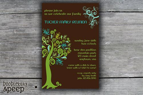 Free Family Reunion Invitation Templates Unique Best 25 Family Reunion Invitations Ideas On Pinterest