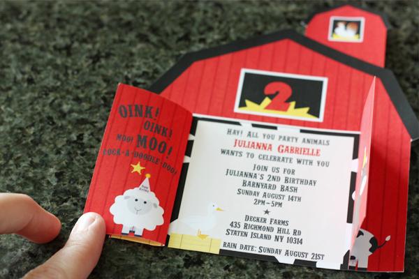 Free Farm Birthday Invitation Templates Inspirational Barnyard Farm Invitations