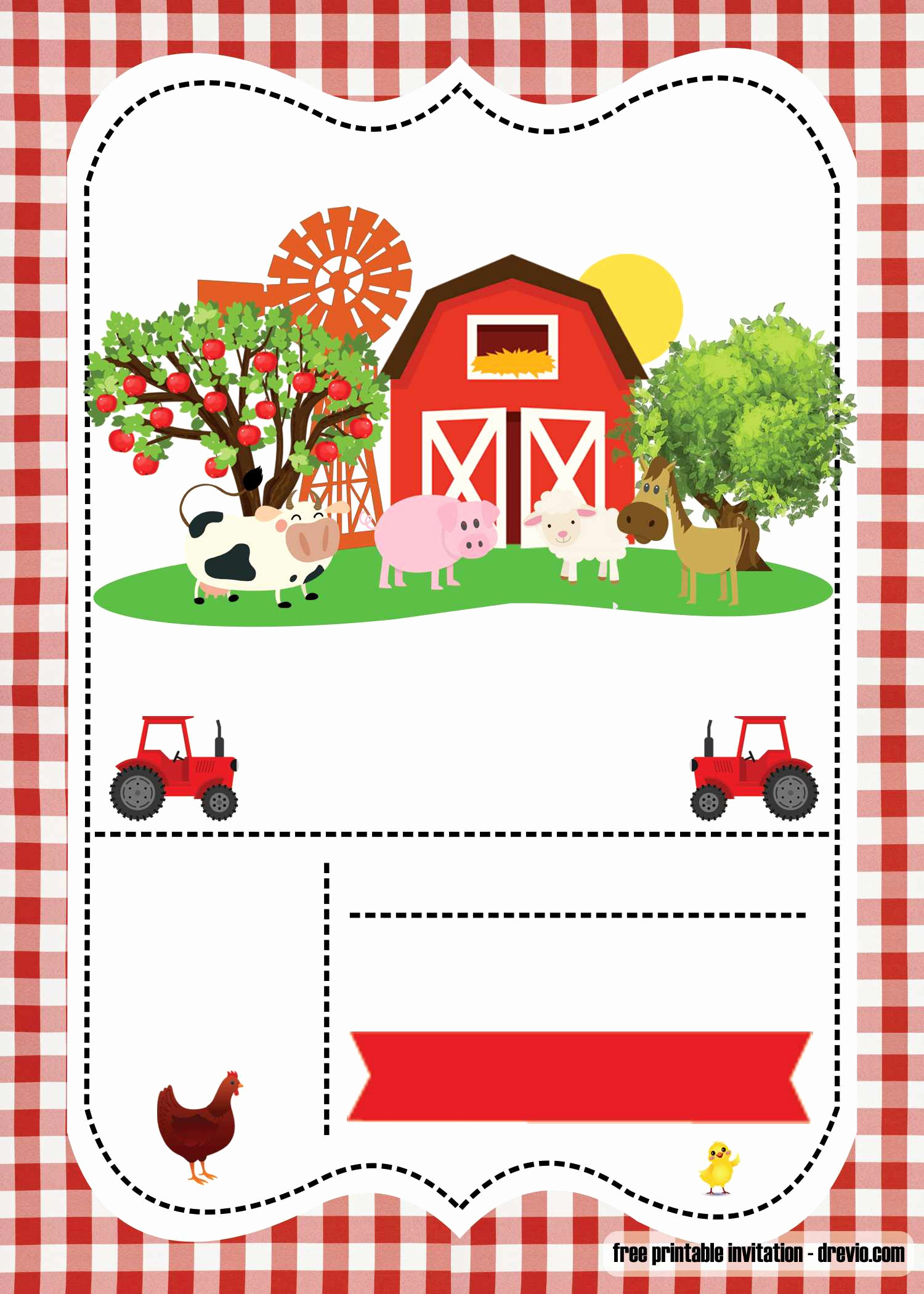 Free Farm Birthday Invitation Templates Inspirational Free Farm Party Invitation Template – Printable