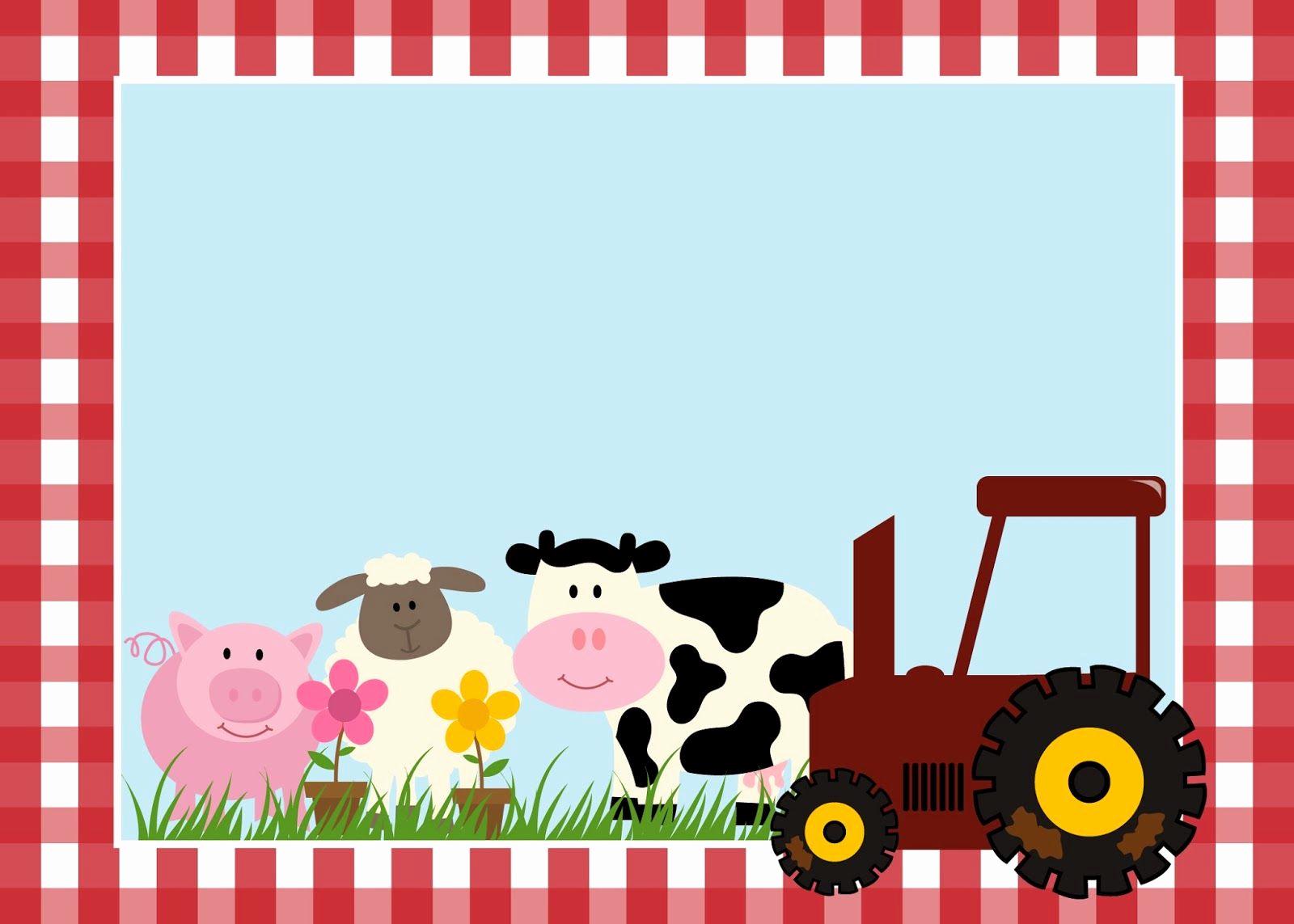 Free Farm Birthday Invitation Templates New 3 Nicolás Años Scrapbooking and Printables