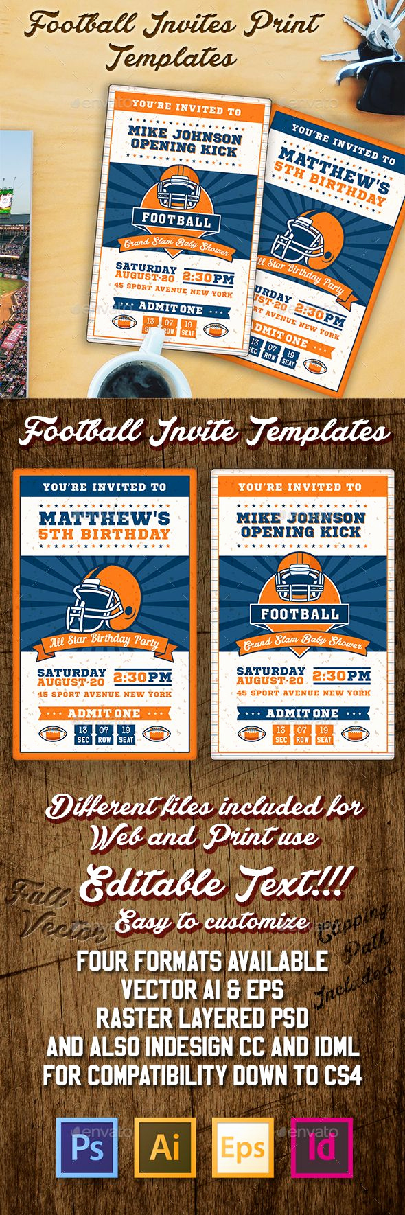Free Football Ticket Invitation Template Best Of Best 25 Football Ticket Ideas On Pinterest