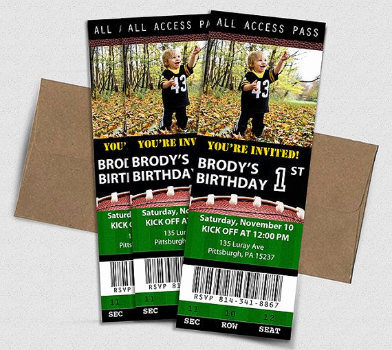 Free Football Ticket Invitation Template Elegant 25 Best Ideas About Football Ticket On Pinterest