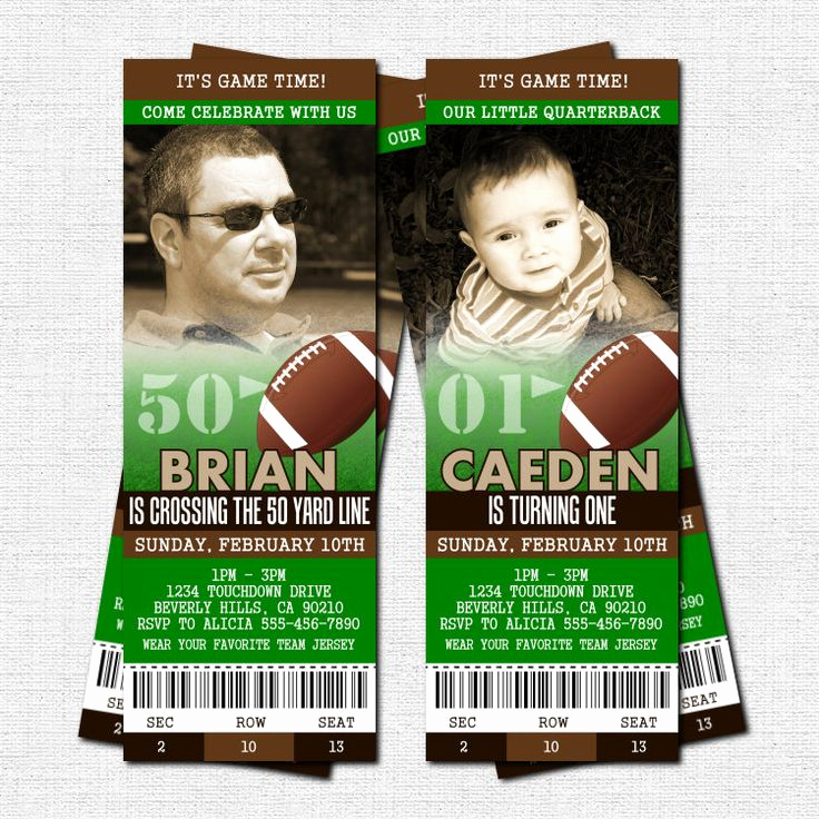 Free Football Ticket Invitation Template Unique Best 25 Football Ticket Ideas On Pinterest