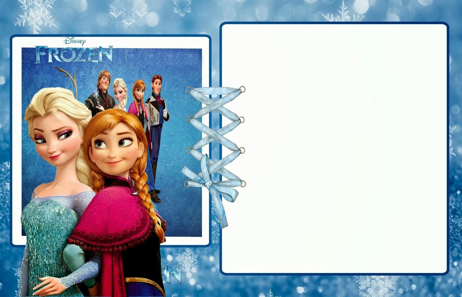 Free Frozen Invitation Templates Fresh Frozen Party Free Printable Invitations