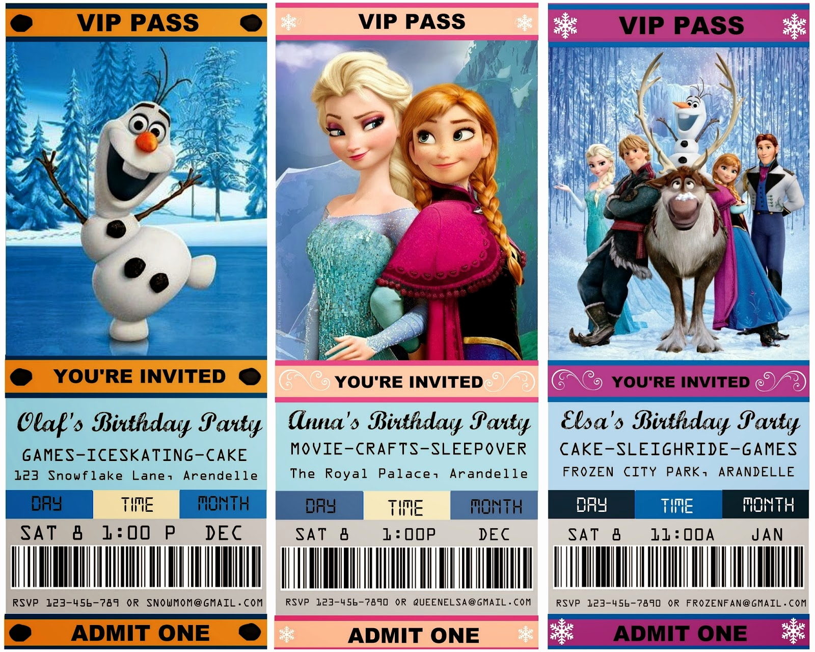 Free Frozen Invitation Templates Inspirational 12 Cool Frozen Party Ideas