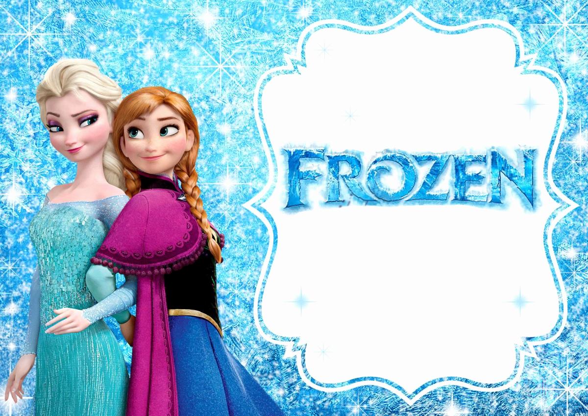 Free Frozen Invitation Templates Lovely Frozen Free Printable Invitation Templates