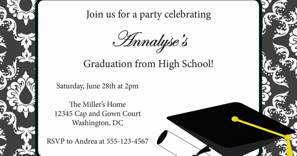 Free Grad Party Invitation Templates Best Of Free Printable Graduation Party Invitation Templates 2014