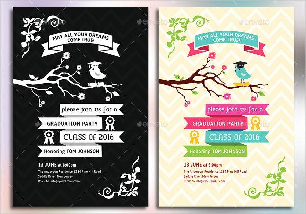 Free Grad Party Invitation Templates Fresh 12 Graduation Party Invitations Psd Ai Vector Eps