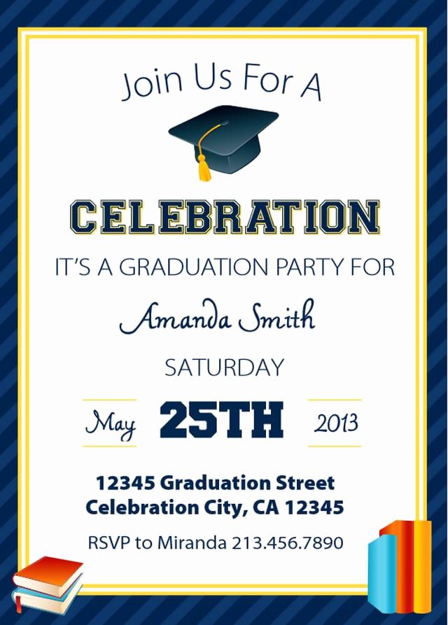 Free Grad Party Invitation Templates Luxury Free Printable Kindergarten Graduation Invitation