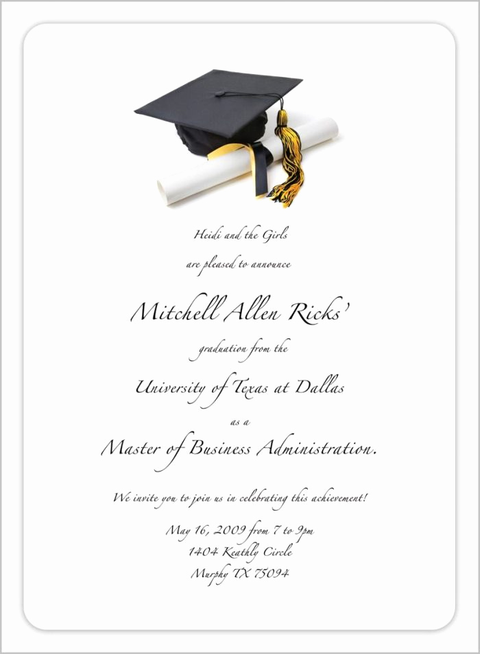 Free Graduation Invitation Maker Elegant Graduation Invitation Maker Line Free Templates 1