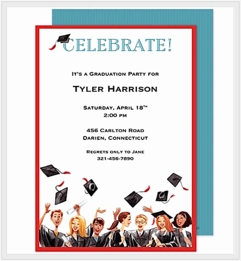 Free Graduation Invitation Maker Inspirational Design Your Own Graduation Party Invitations