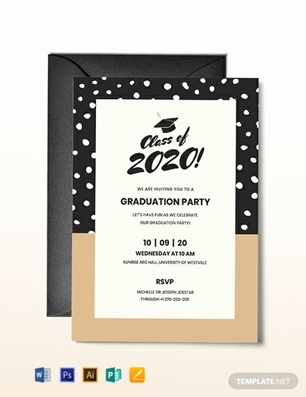 Free Graduation Invitation Templates Download Inspirational Free Graduation Invitation Template Download 651