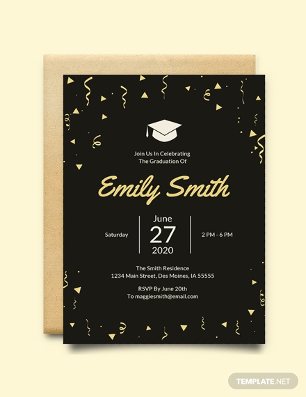 Free Graduation Invitation Templates Download Lovely Free Graduation Invitation Template Download 517