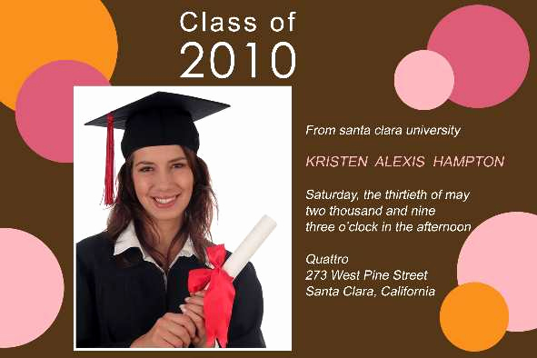 Free Graduation Invitation Templates Photoshop Unique Free Photo Templates Graduation Announcement