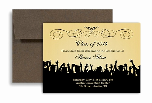 Free Graduation Party Invitation Template Beautiful Free Graduation Invitation Templates for Word 2018