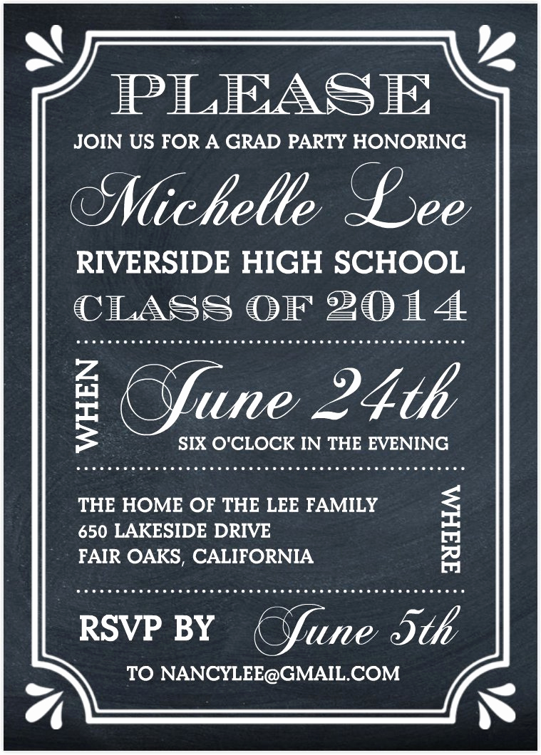 Free Graduation Party Invitation Templates Best Of Graduation Party Invitations Graduation Party
