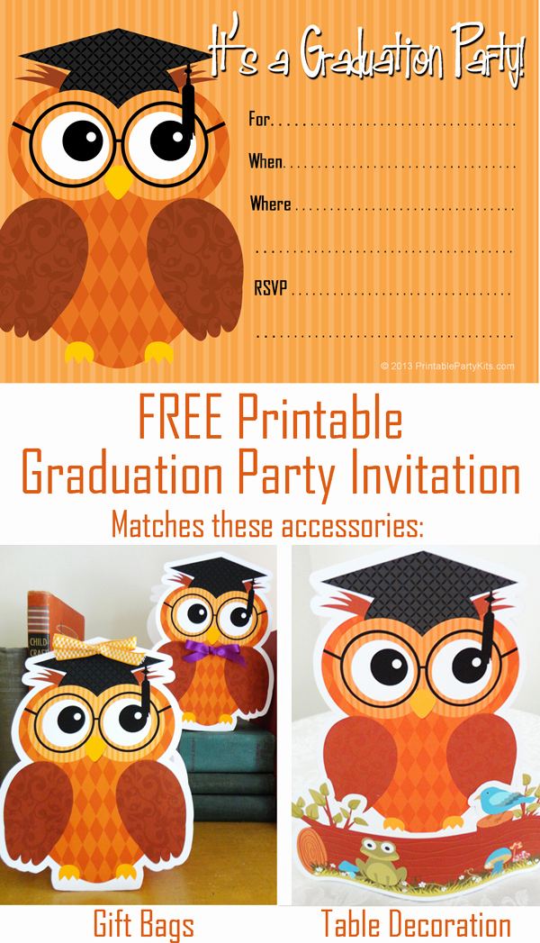 Free Graduation Party Invitation Templates Inspirational Party Planning Center Free Printable Graduation Party
