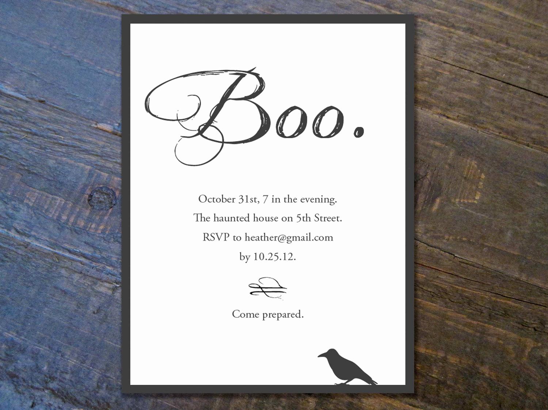 Free Halloween Invitation Printable Awesome Halloween Invitation Templates Free – Festival Collections