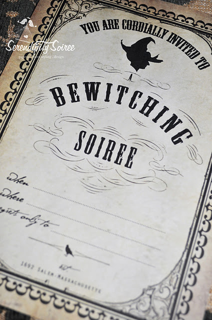 Free Halloween Invitation Printable Best Of Free Halloween Party Printables From Serendipity soiree