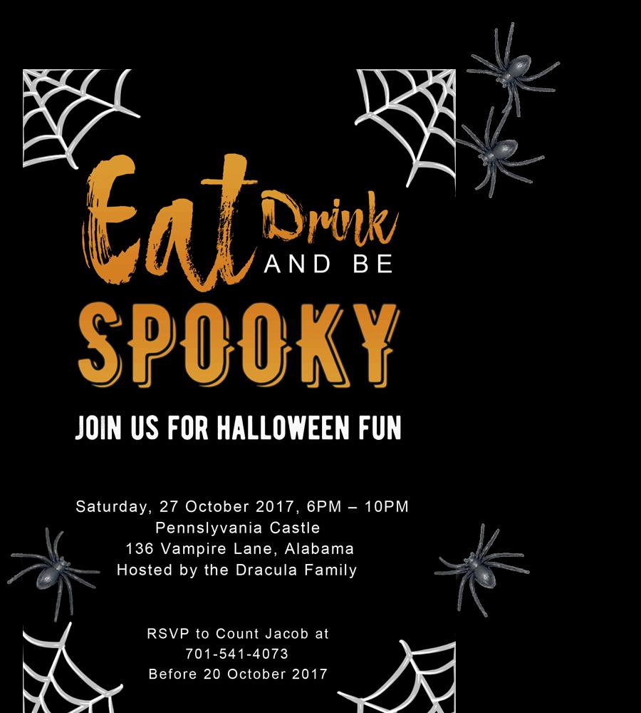 Free Halloween Invitation Printable Lovely Free Printable Halloween Party Invitations 2018 [ Template]