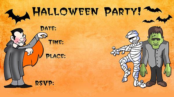 Free Halloween Invitation Printable Unique 16 Awesome Printable Halloween Party Invitations