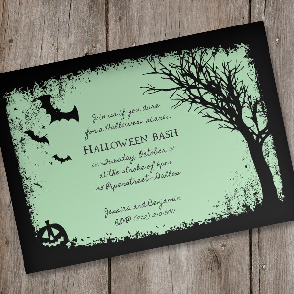 Free Halloween Invitation Printables Awesome Halloween Invitation Template – Spooky Woods – Download