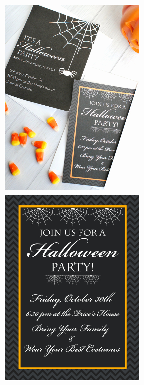 Free Halloween Invitation Printables Fresh Cute Free Printable Halloween Invitations – Fun Squared