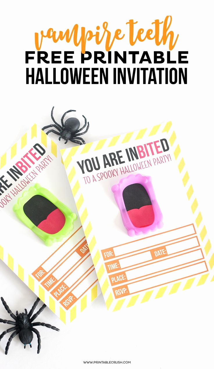 Free Halloween Invitation Printables Luxury Download This Free Printable Vampire Halloween Invitation