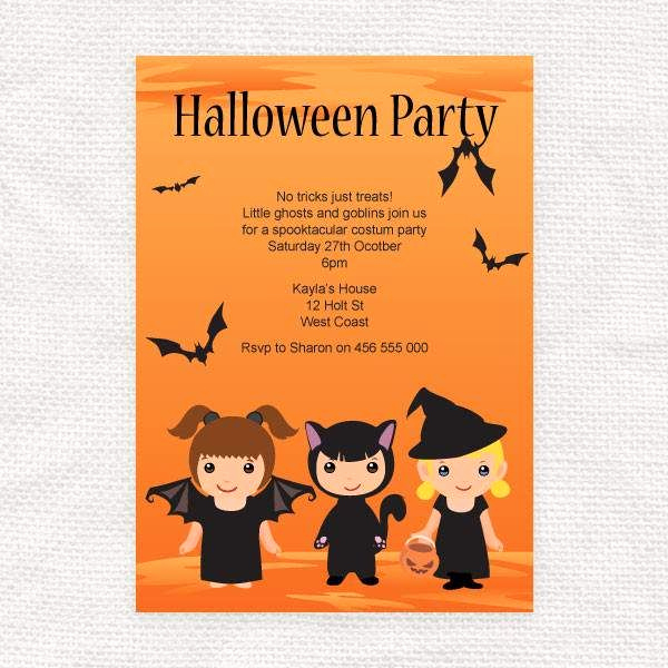 Free Halloween Invitation Printables Luxury Printable Halloween Invitations Free