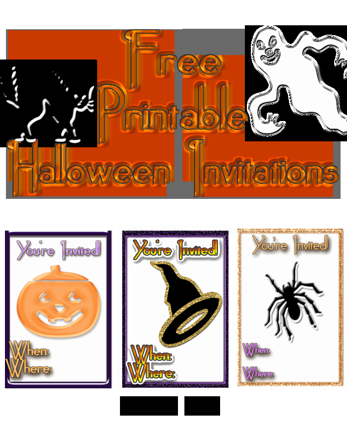Free Halloween Invitation Printables Unique Free Printable Halloween Invitation Flyers – Festival