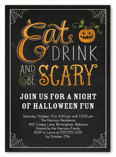 Free Halloween Invitation Template Beautiful 18 Halloween Invitation Wording Ideas