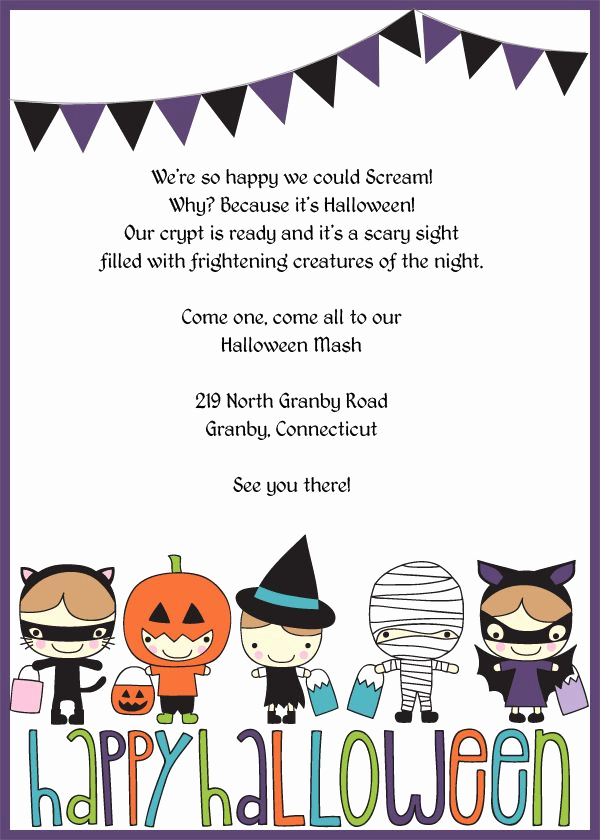 Free Halloween Invitation Template Elegant 25 Best Halloween Invitations Kids Ideas On Pinterest