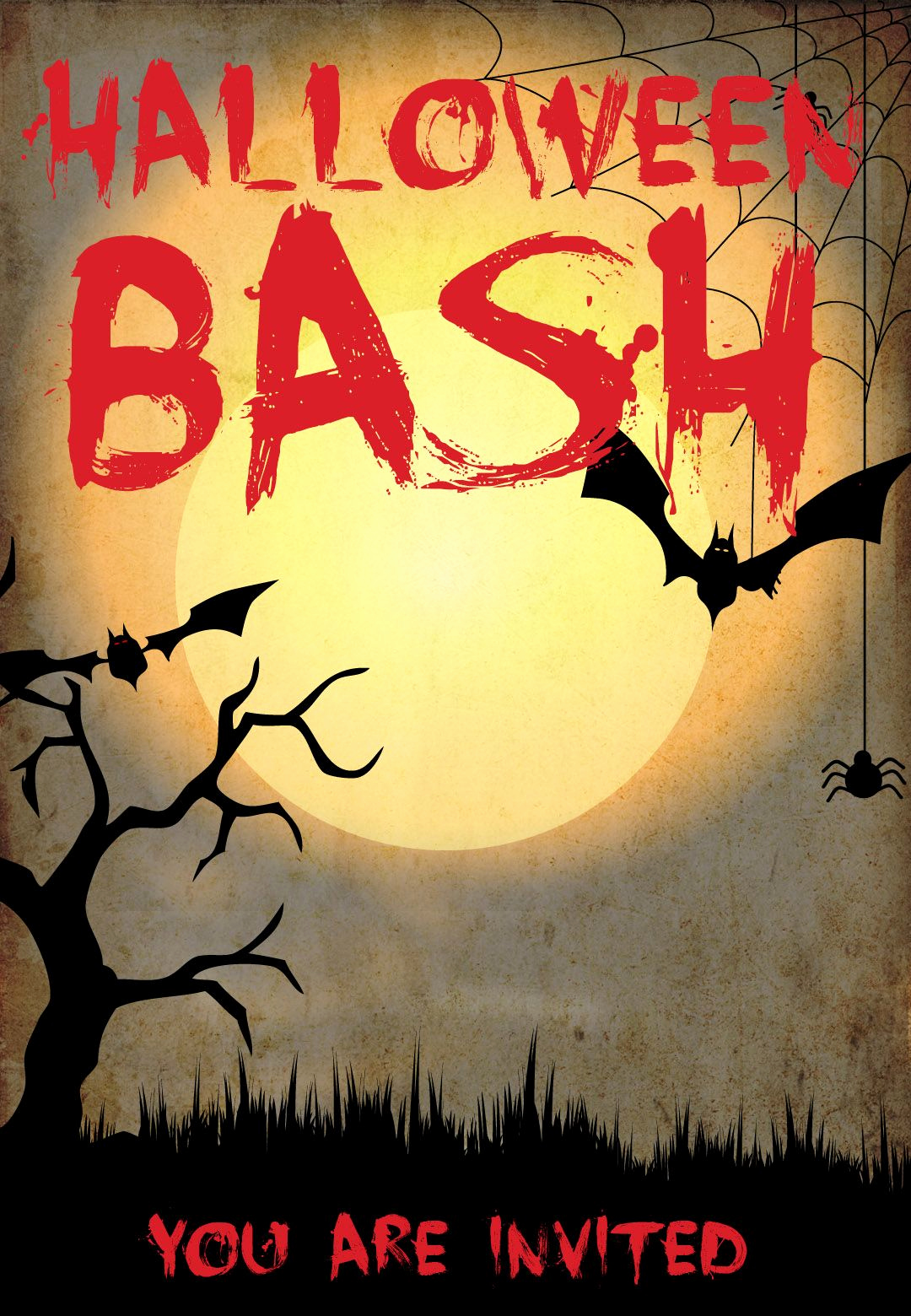 Free Halloween Invitation Template New Halloween Bash Free Printable Halloween Invitation