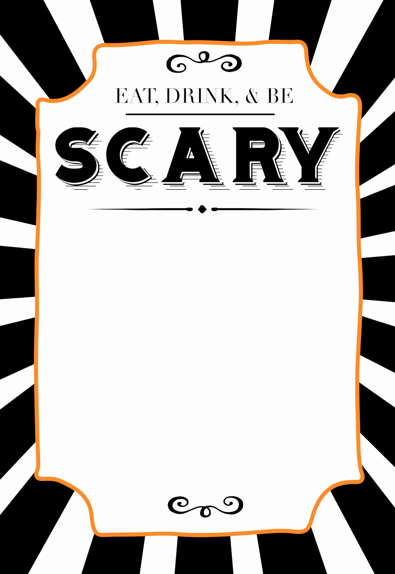 Free Halloween Invitation Templates Awesome Halloween Invitations Free Printable Template Paper