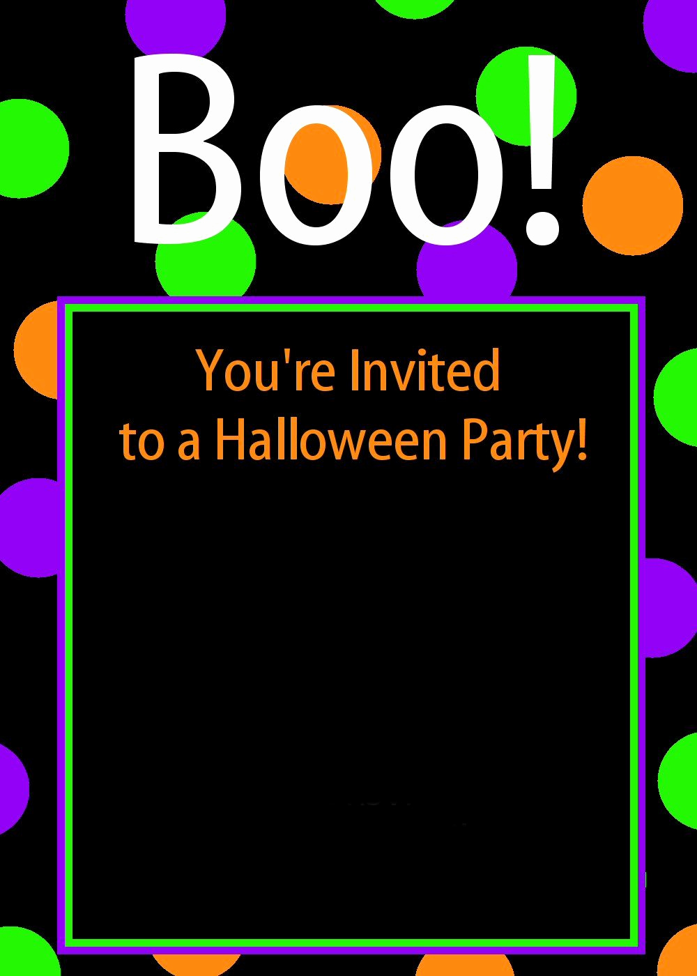Free Halloween Invitation Templates Elegant Free Printable Halloween Invitations Crazy Little Projects