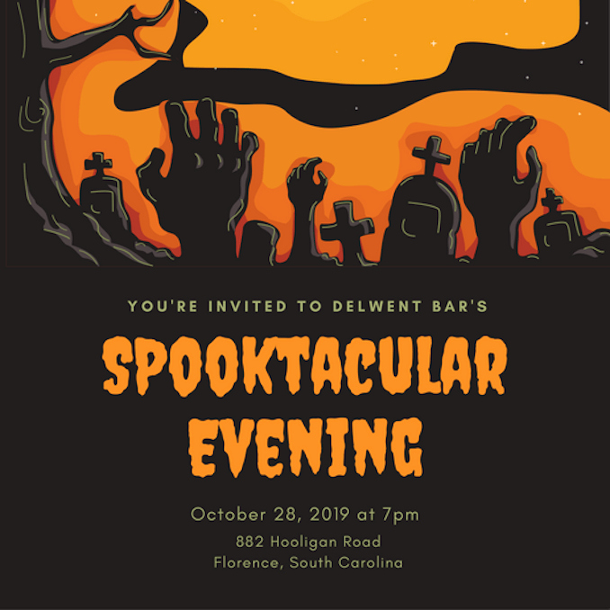 Free Halloween Invitation Templates New Invitation Maker Design Your Own Custom Invitation Cards