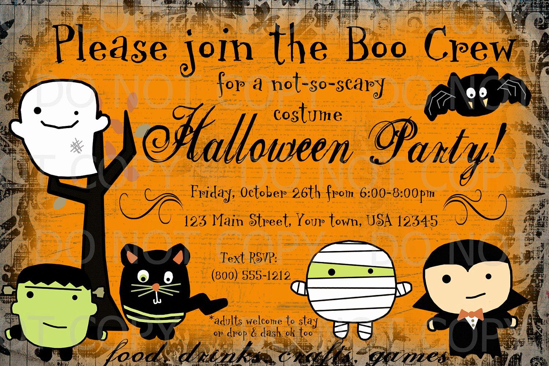 Free Halloween Invitation Templates Printable Awesome Printable Halloween Invitations