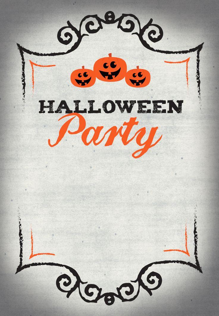 Free Halloween Invitation Templates Printable Lovely Best 25 Halloween Party Invitations Ideas On Pinterest