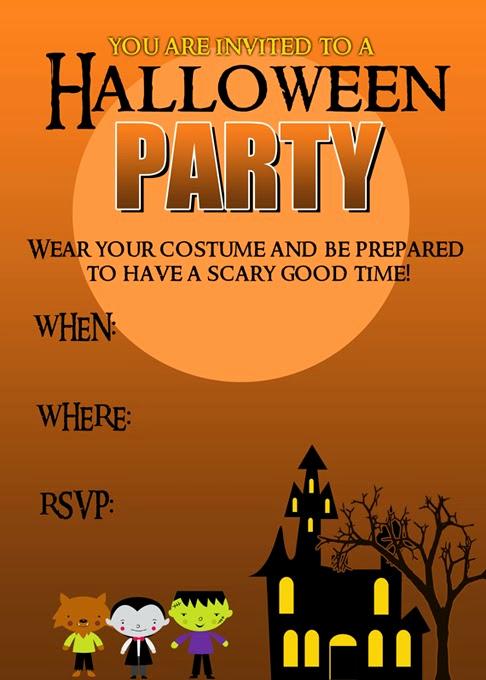 Free Halloween Party Invitation Templates Awesome 20 Crafty Days Of Halloween Party Invitation Printable
