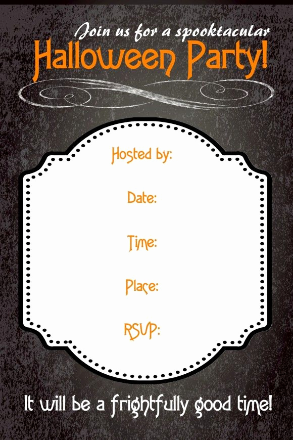 Free Halloween Party Invitation Templates Beautiful 1000 Images About Free Printables Parties Invitation