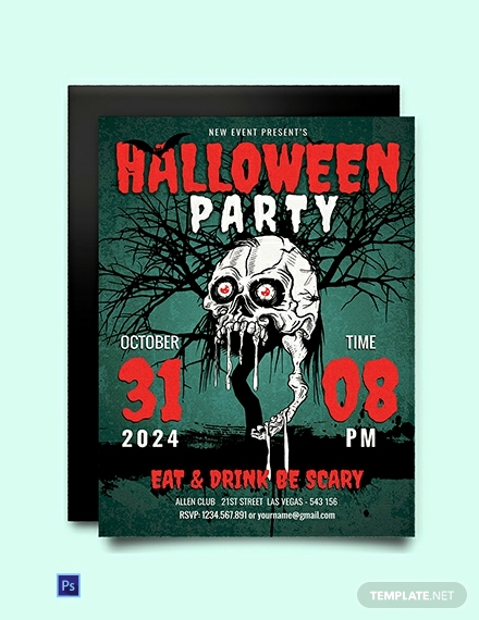 Free Halloween Party Invitation Templates Best Of Free Scary Halloween Party Invitation Template Download