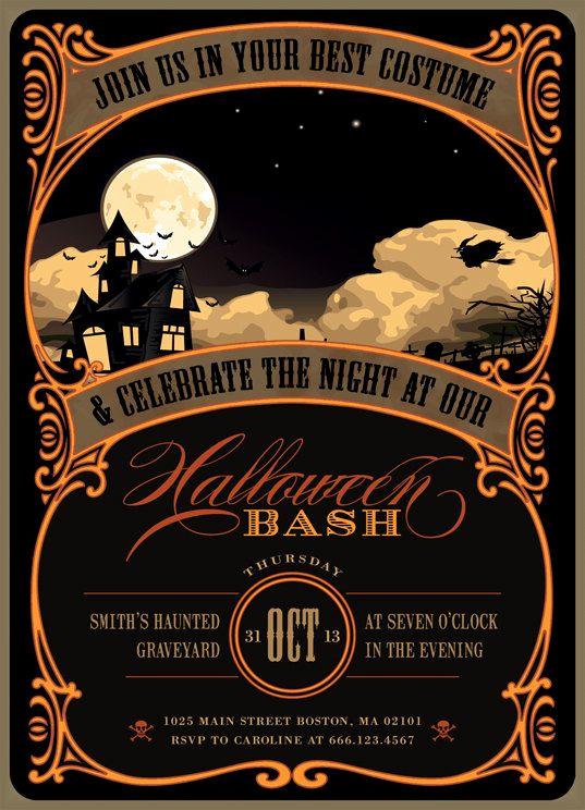Free Halloween Party Invitation Templates Luxury Best 25 Halloween Party Invitations Ideas On Pinterest