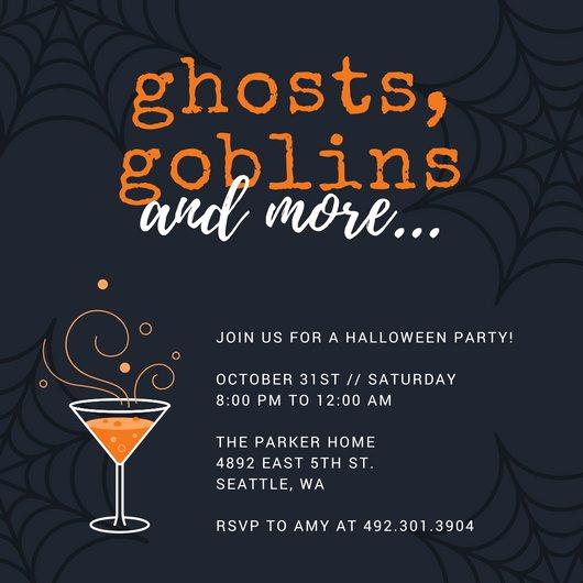 Free Halloween Party Invitation Templates Luxury Customize 3 999 Halloween Party Invitation Templates