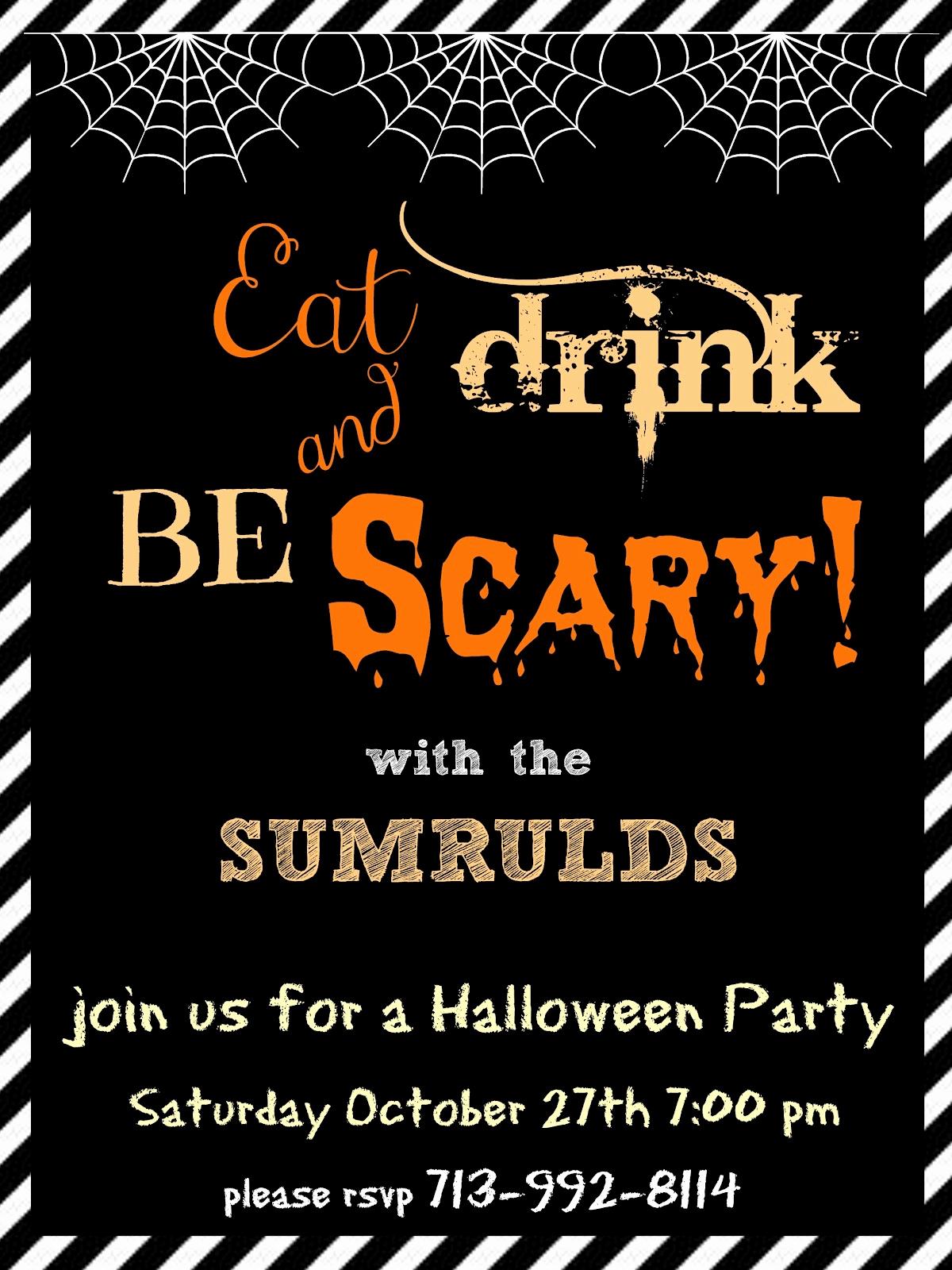 Free Halloween Party Invitation Templates Luxury Halloween Party Invitation Templates Free – Festival