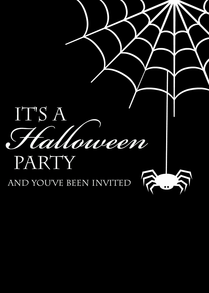 Free Halloween Party Invitation Templates Unique Free Printable Halloween Invitations Crazy Little Projects