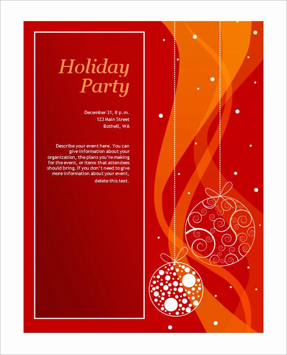 Free Holiday Invitation Template Luxury 50 Microsoft Invitation Templates Free Samples