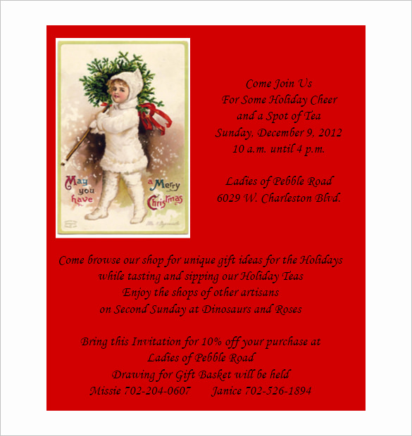 Free Holiday Invitation Templates Best Of 50 Microsoft Invitation Templates Free Samples